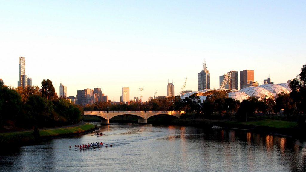 Melbourne Austrália View