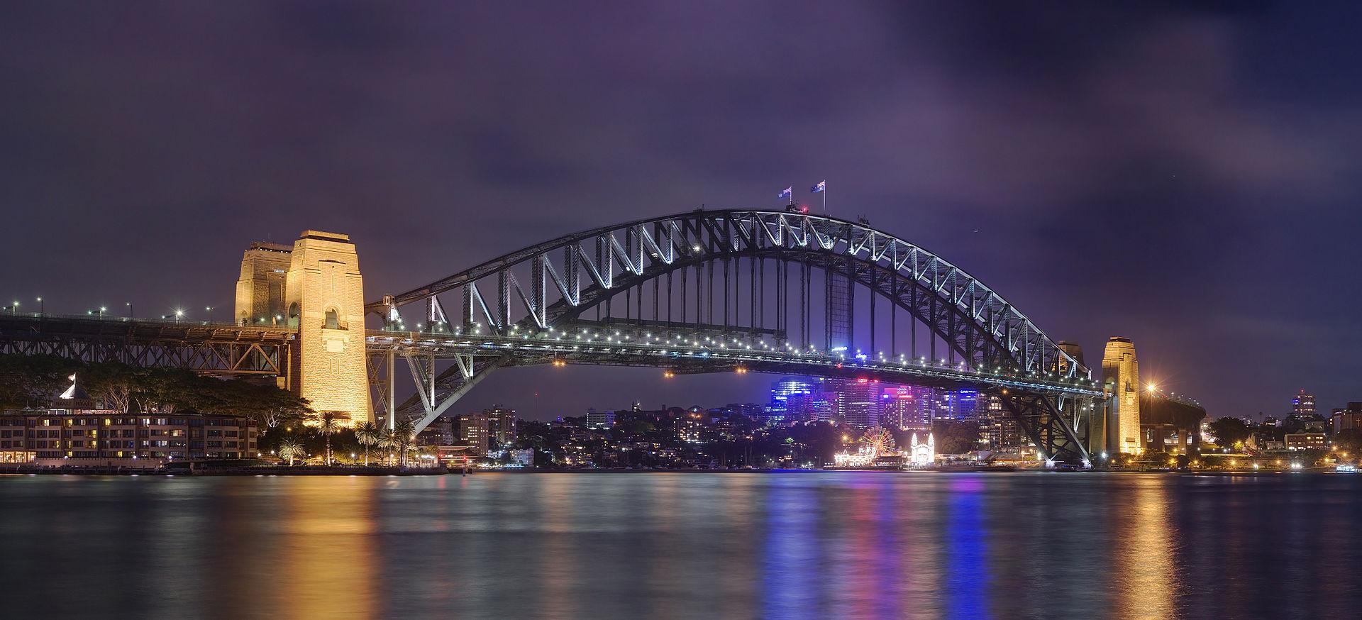 Harbour Bridge in Sidney